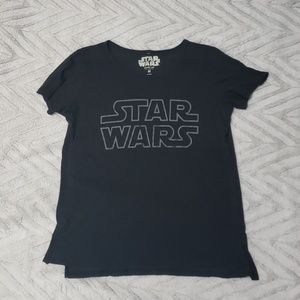 Womens size medium Star Wars tshirt dark gray